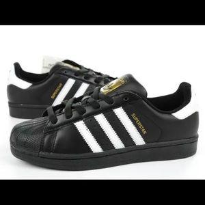 Adidas Superstars. Worn twice!! In great condition